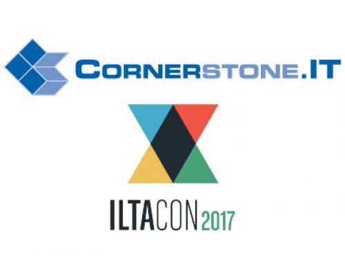 Cornerstone.IT Announces Its ILTACON Events