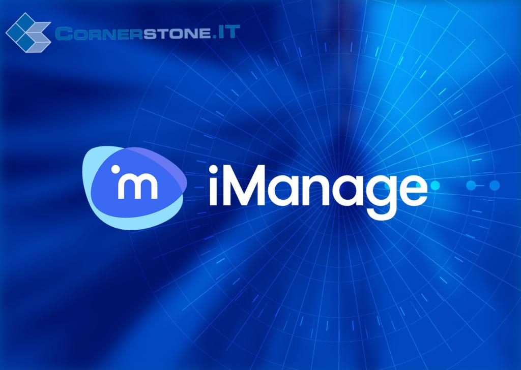 Cornerstone.IT implements iManage