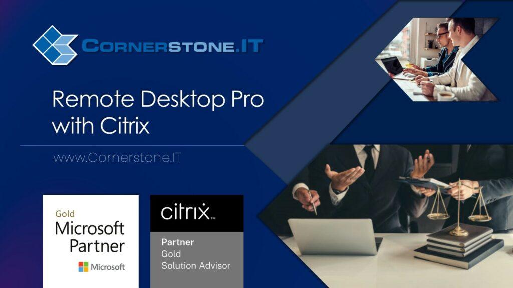 CIT Remote Desktop Pro slidedeck