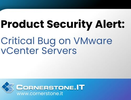 Product Security Alert: Critical Bug on VMware vCenter Servers