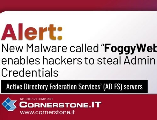 """Security Alert: New Malware called """"FoggyWeb"""" enables hackers to steal Admin Credentials"""